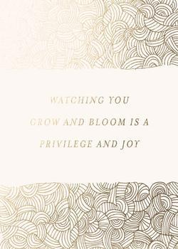 Watching you grow