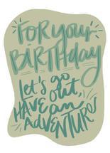 Birthday Adventure by Cindy Reynolds