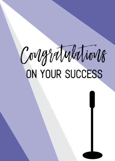 greeting card - Special Congrats by Kristen Niedzielski