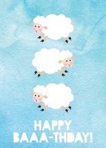 Happy Baaa-Thday by Kathy Par