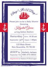 Sailor Baby Shower by Jennifer Warren