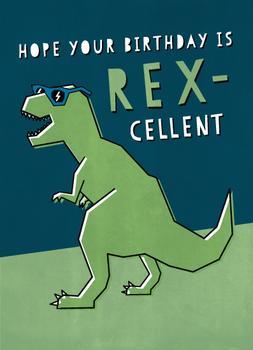 Rex-cellent Birthday