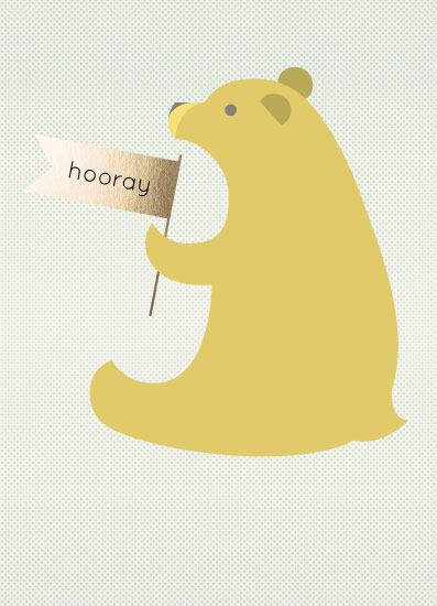 greeting card - Bear by Alexandra Cohn