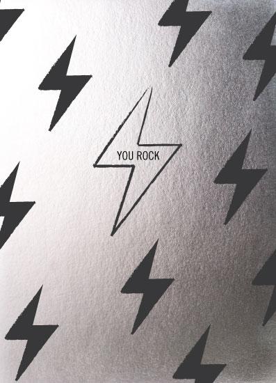 greeting card - Lightning Bolt birthday card by Alexandra Cohn