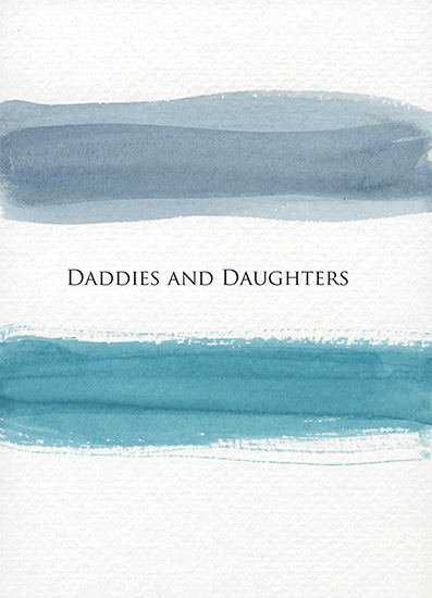greeting card - Daddies and Daughters by Von Sides