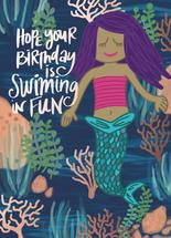 Swimming In Fun by Cindy Reynolds