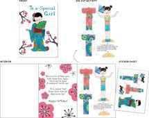 Kioko Paper Doll by Christine Rae