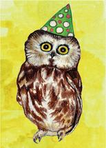 Whoo-who's turning one? by Janie Allen