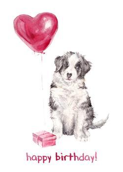 Balloon Birthday Puppy