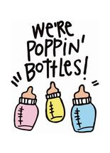 Poppin' Bottles Baby Ca... by Laura Palmer