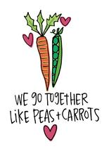Peas and Carrots by Laura Palmer