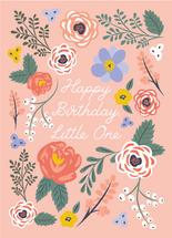 LITTLE FLOWER BIRTHDAY by Chelsea And Marbles Paper