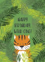 Hidden Tiger Birthday by Chelsea And Marbles Paper