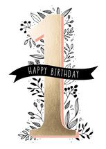first birthday by Cheryl Rotunno