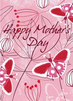 Happy Mother's Day with Butterflies