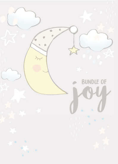 greeting card - Bundle of Joy by Christie Elise