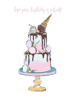 Birthday Cake Magic