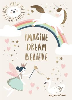 Imagine.Dream.Believe.