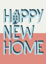 Happy New Home Friend by Oh So Smitten