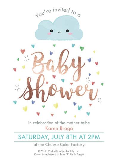 baby shower invitations - Love Shower by Elioena Carreiro