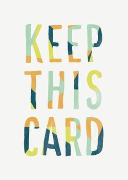 Keep This Card