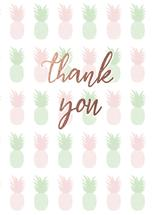 Pineapple thank you by Faith Roper Constant