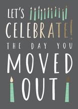 Moved out- birthday by Kate Cawood