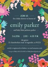 Fun Floral Baby Shower... by Paper Etiquette