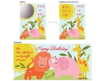 peek-a-boo birthday