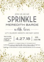 Gold Sprinkle Baby Show... by Paper Etiquette