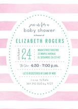Pink Watercolor Baby Sh... by Paper Etiquette