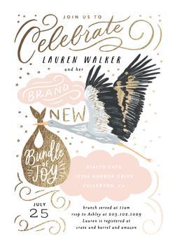 Celebrate Confetti Stork