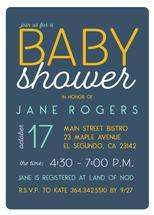 Retro Baby Shower Invit... by Paper Etiquette