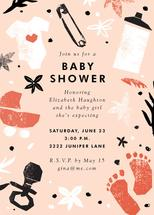 baby shower cut outs by e.m.papers