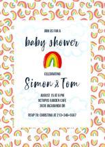 Rainbow love baby showe... by Shoshannah