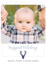 deer happiest holidays by Henri Martinez