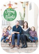 Merry & Bright Ornament by Audra Candelaria