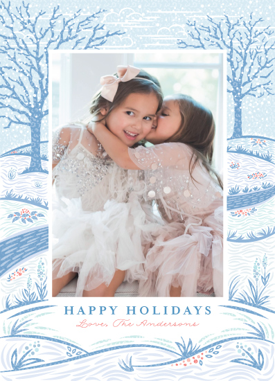 holiday photo cards - Snowy Day by Paper Sun Studio