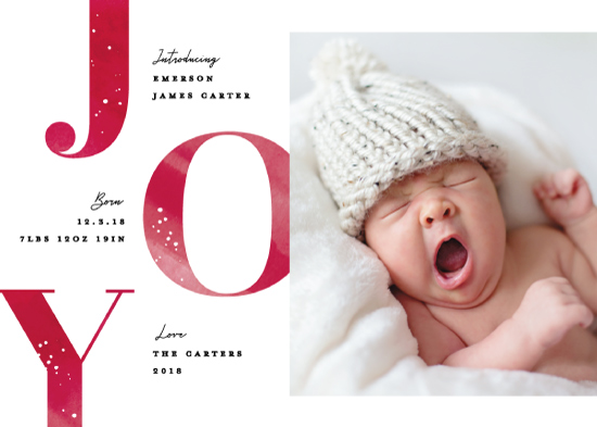holiday photo cards - Joyous intro by Creo Study