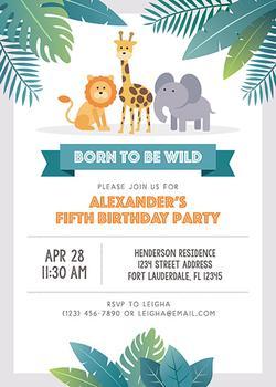 Born To Be Wild Birthday