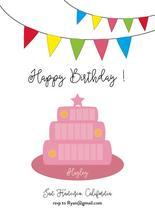 Happy Birthday by Lumarie
