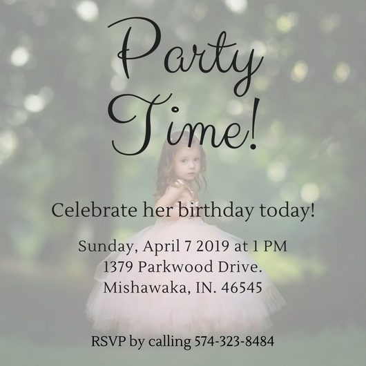 birthday party invitations - Birthday for Her by Victoria Johnston