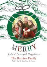 Merry Family Bauble by Kristen Niedzielski