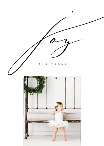 holiday photo cards - Inked Joy by Lori Wemple