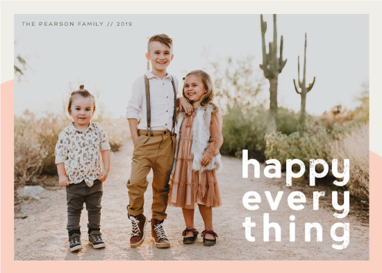 holiday photo cards - Desert Holiday by esg creative