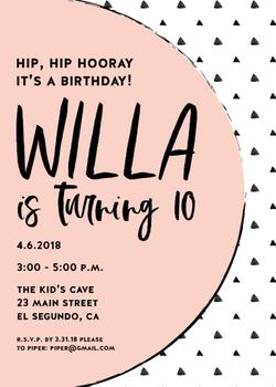 Whimsical Willa Invite