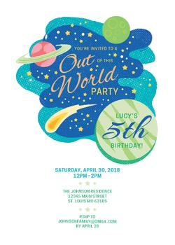 Out Of This World Party!