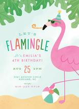 Flamingle by Ink and Letter Designs