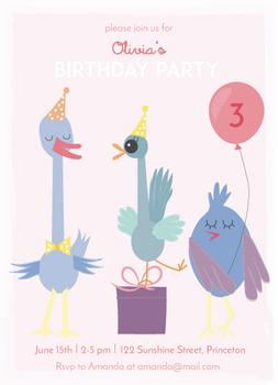 Birdy birthday party