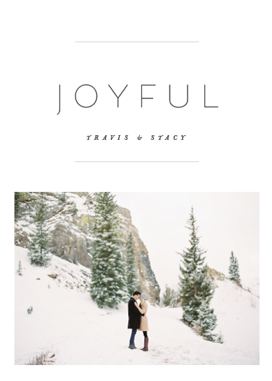 holiday photo cards - the edit by Design Lotus